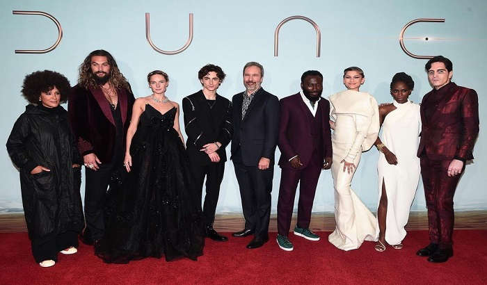 """""""Dune"""" cast arrive at the star-studded UK special screening in London"""