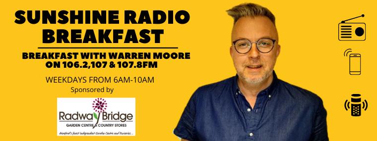 Wake Up to Warren Moore with Radway Bridge Garden Centre