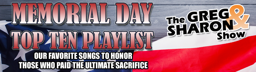 G+S Top 10 Memorial Day Playlist