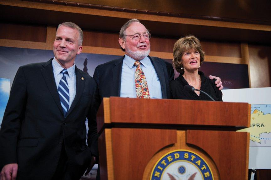 AK congressional delegation