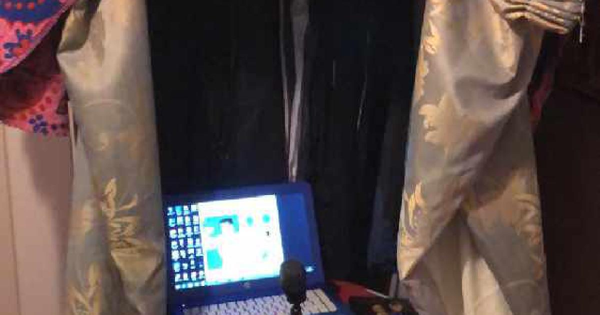 Biz Mix Blog Radio Tent