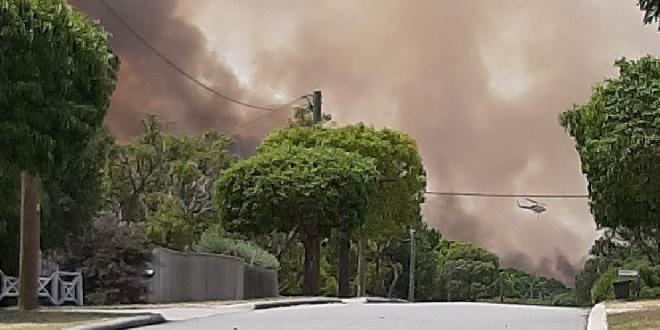Kwinana bushfire Kay Buck