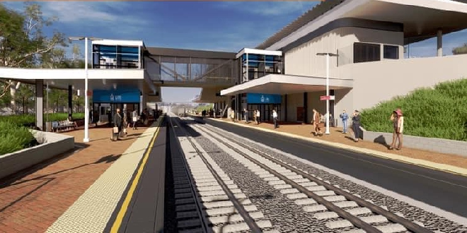 Lakelands Train Station design