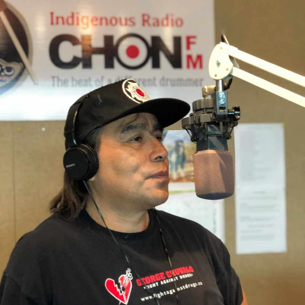 "Charles Eshleman - host of ""Indigenous Connections"""