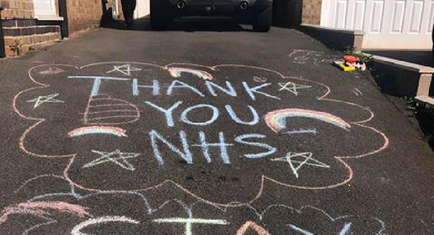 Thank you NHS Chapman Thringstone NEWS