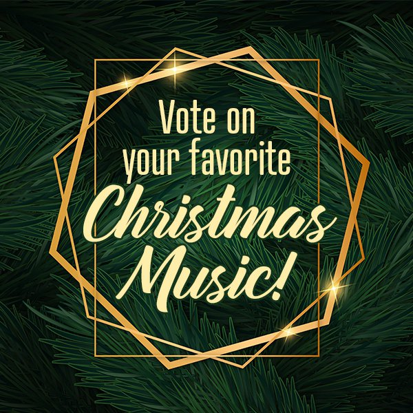 Vote on Christmas Music
