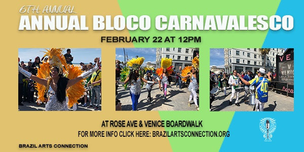 6th Annual Brazilian Bloco Carnavalesco!