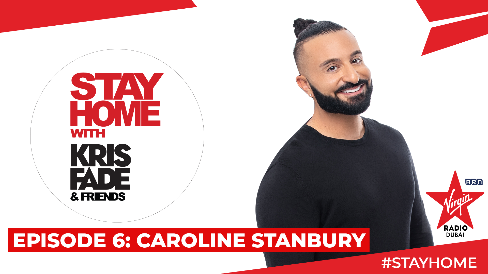Stay Home with Kris Fade & Friends - Caroline Stanbury