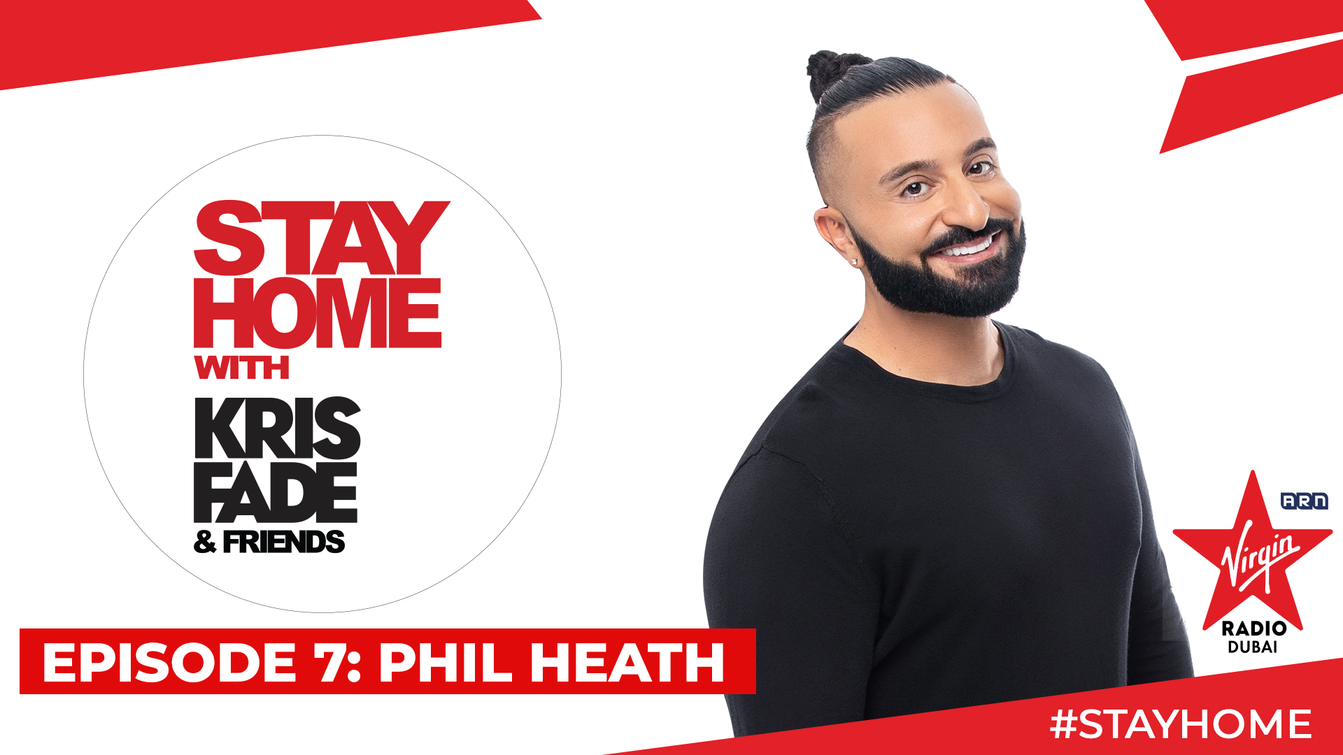 Stay Home with Kris Fade & Friends - Phil Heath