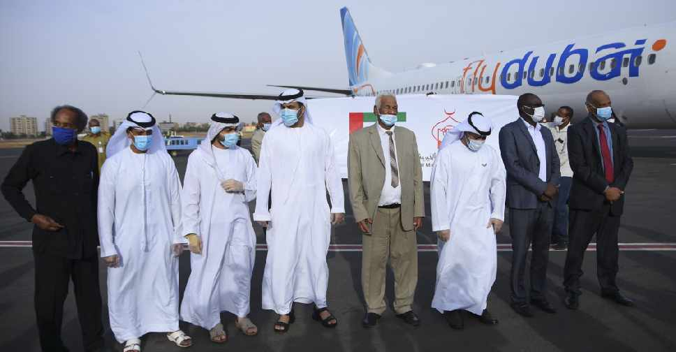 UAE AID AL MAKTOUM FOUNDATION FLYDUBAI 2