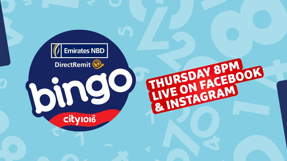 City - ENBD Bingo