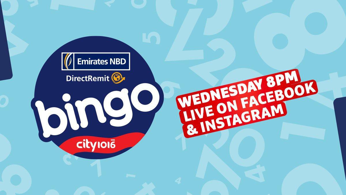 ENBD Bingo - Wednesday