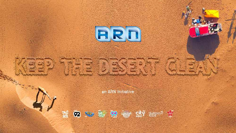 Keep the desert clean