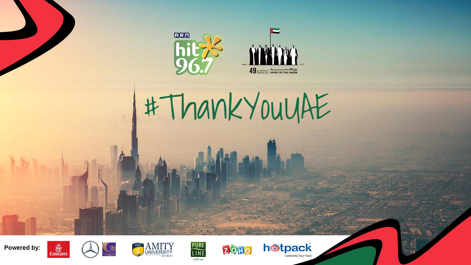 Thank you UAE