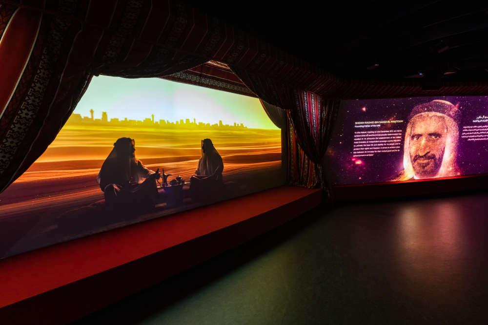 Inside Expo 2020 Mobility Pavilion