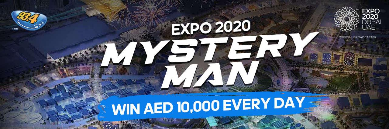 EXPO 2020 MYSTERY MAN