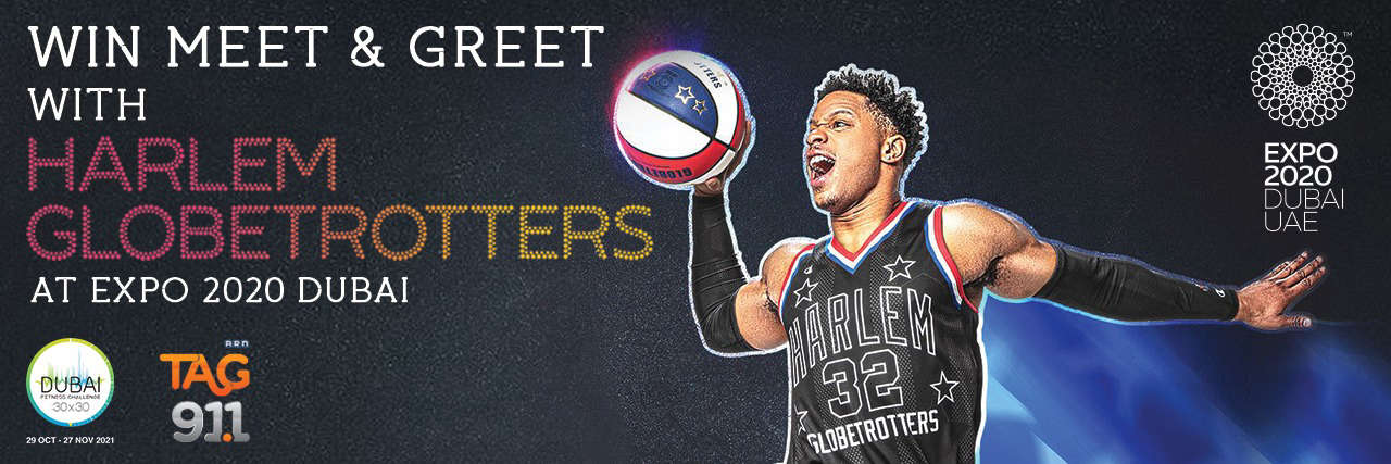 WIN Tickets To Meet & Greet Harlem Globetrotters at Expo 2020