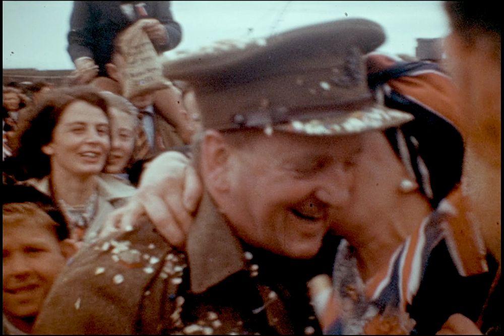 Dr Mortimer Evans colour cine film
