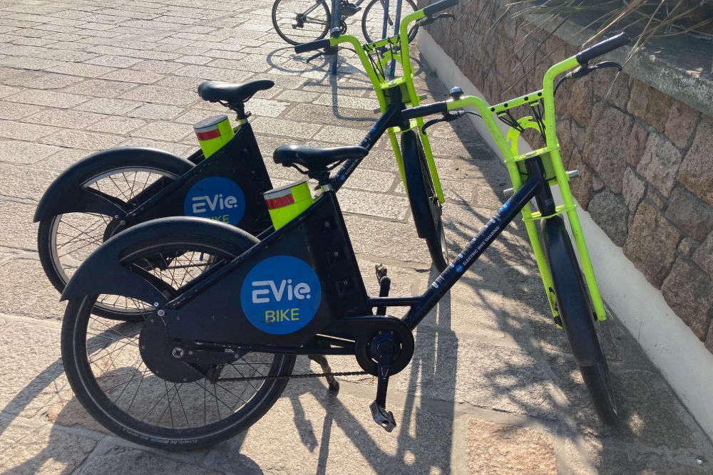 The old EViebike model, which will be gradually replaced
