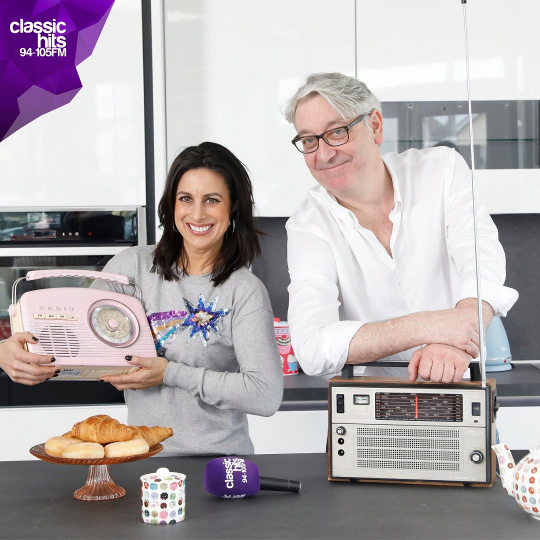 The Colm and Lucy Breakfast Show on Classic Hits