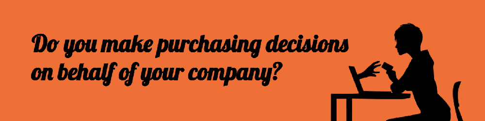 Do you make purchasing decisions?