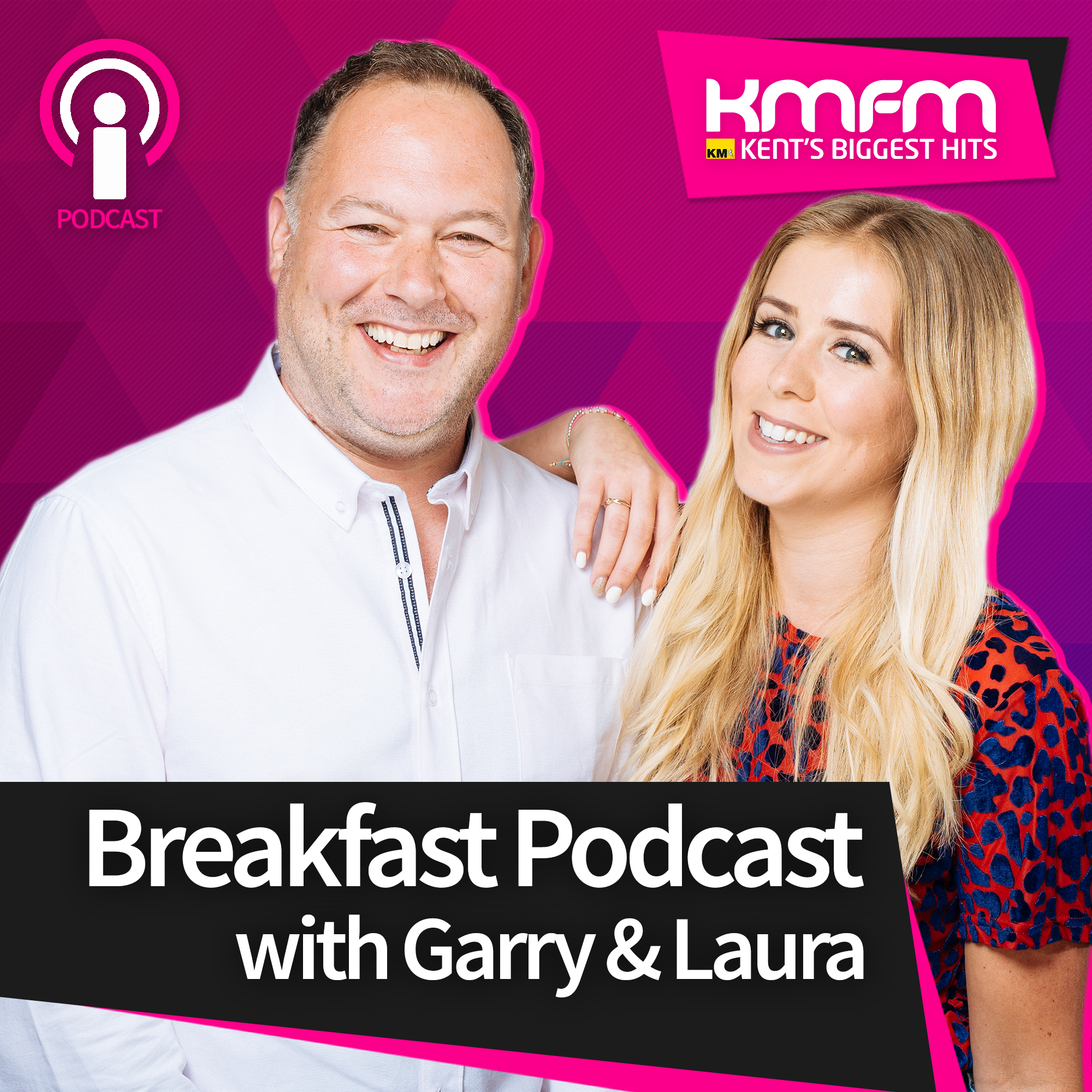 kmfm Breakfast Podcast with Garry and Laura