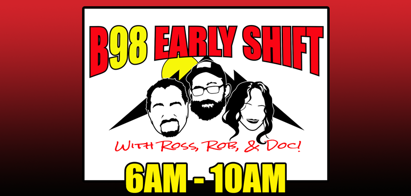 The Early Shift with Ross, Rob & Doc