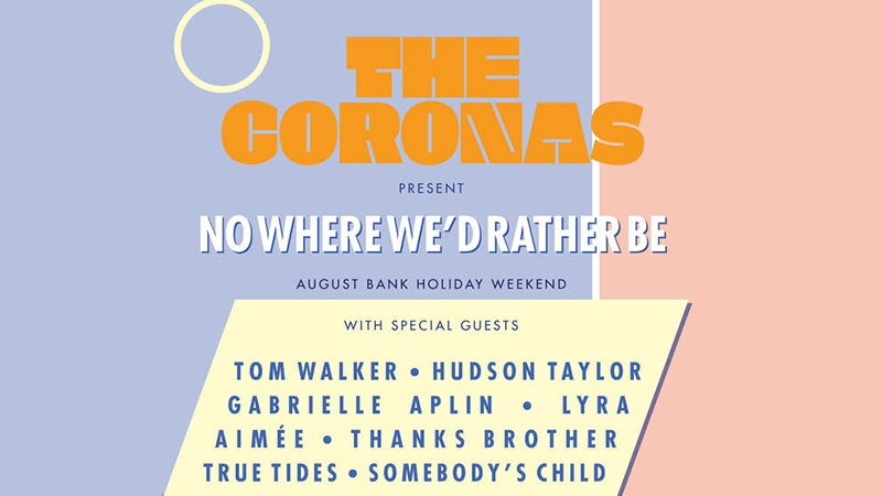 The Corona's No Where We'd Rather Be gig info