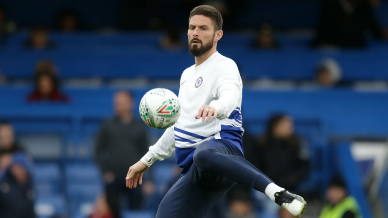 Tottenham have agreed fee with Chelsea for striker Olivier Giroud