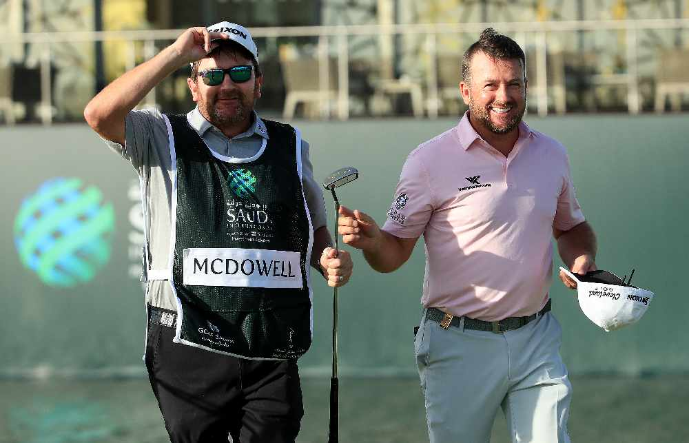 McDowell hit with Saudi slow play warning after giving TV interview