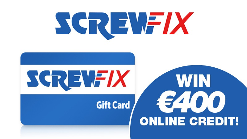 Screwfix online credit competition