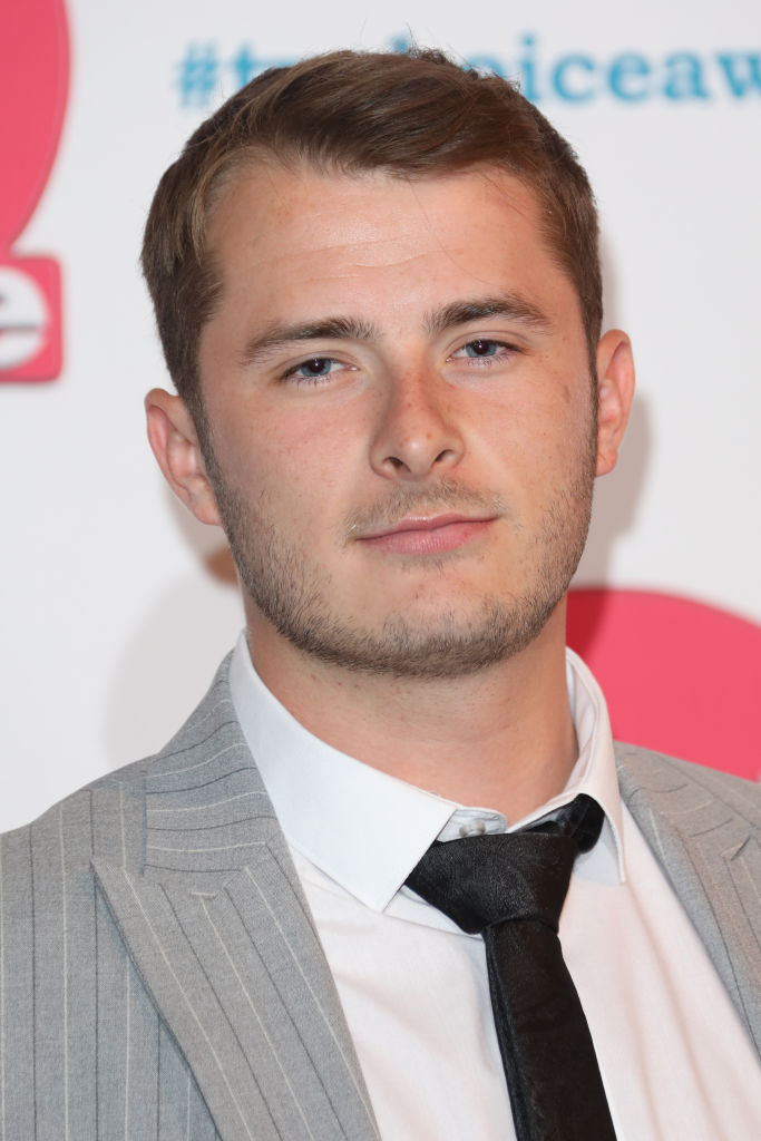 EastEnders actor Max Bowden at the National Television Awards 2020