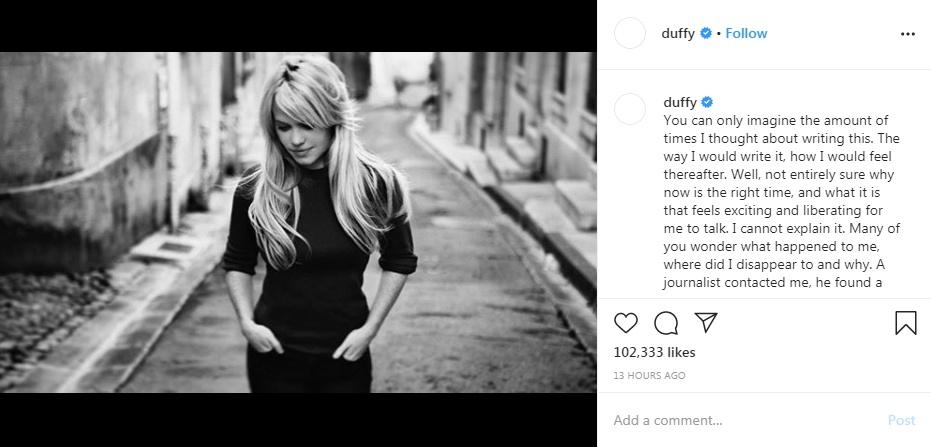 Duffy - Instagram Rape Drugged