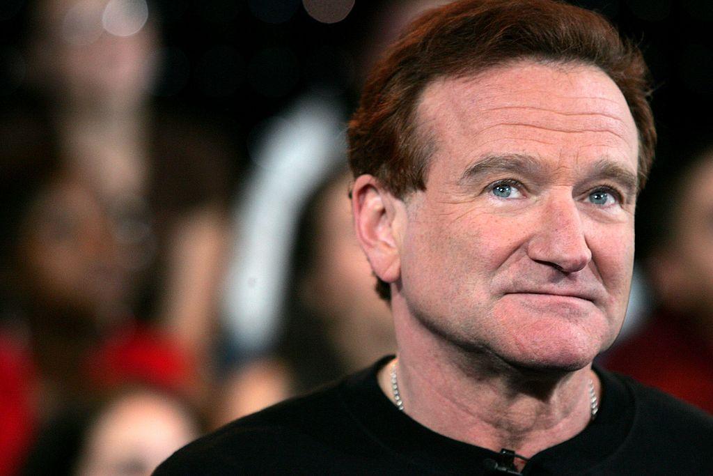 Robin Williams pictured in 2008