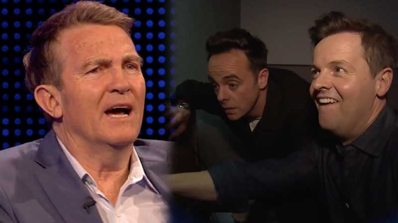 Ant & Dec set up Bradley Walsh - again
