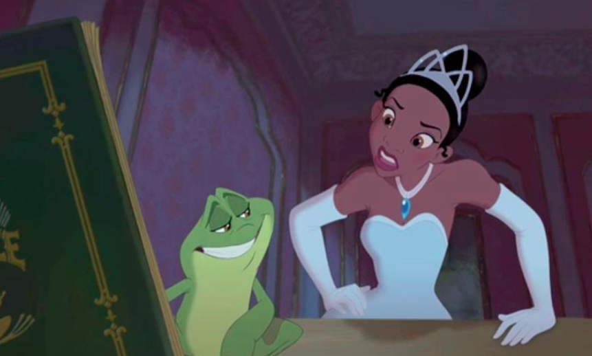 THE PRINCESS AND THE FROG (2015)