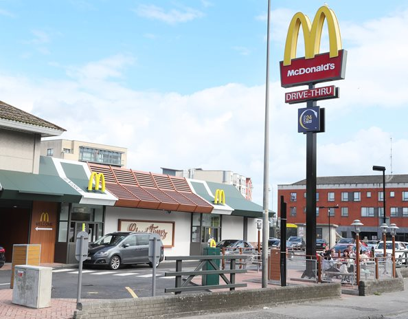 McDonald's opens two NI restaurants for drive-thru and delivery