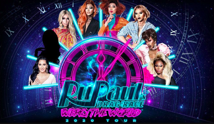 RuPaul's Drag Race: Werq The World tour poster