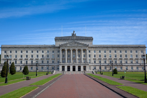 Ireland, North, Belfast, Stormont assembly building. (Photo by: Eye Ubiquitous/Universal Images Group via Getty Images)