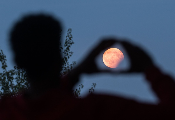 Today will be the last supermoon of the year with 99% glitter