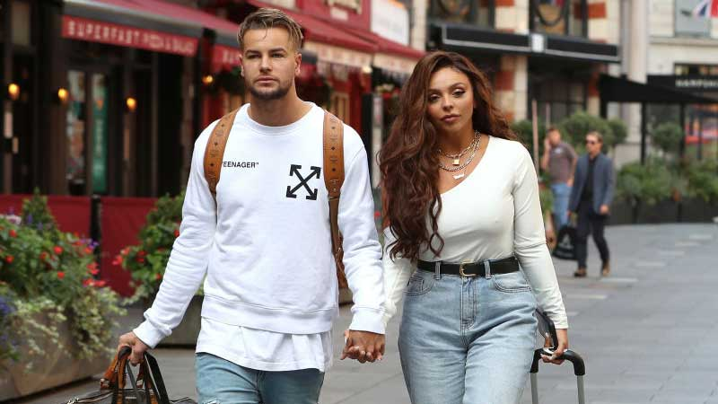 It's over! Jesy Nelson and Chris Hughes end their relationship