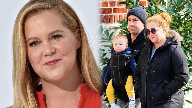 Amy Schumer had to change her son's name for the funniest reason