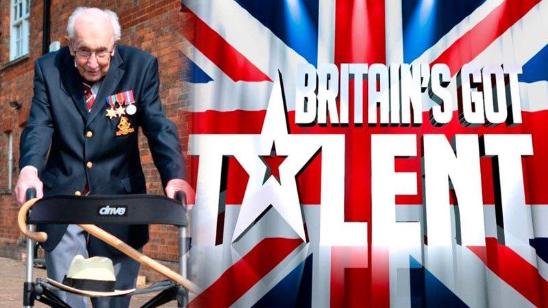 Captain Tom Moore has won a special Pride of Britain Award