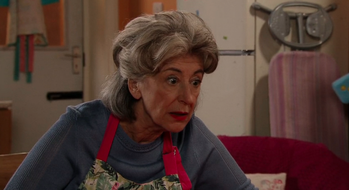 Maureen Lipman as Evelyn on Coronation Street