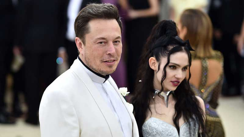 Elon Musk and Grimes Change Baby's Name to Comply with Law