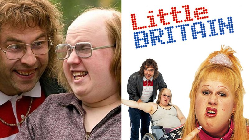Little Britain pulled from streaming services over blackface complaints