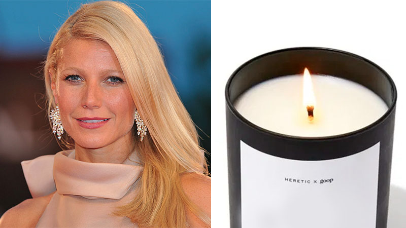 Sexy scents! Gwyneth Paltrow claims her new candle smells like 'orgasms'