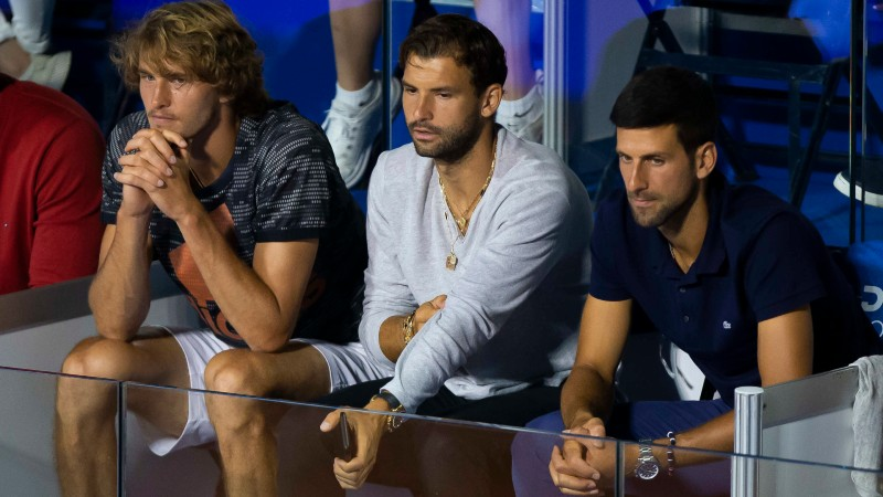 Coric and Dimitrov apologise after testing positive for coronavirus during Djokovic's event