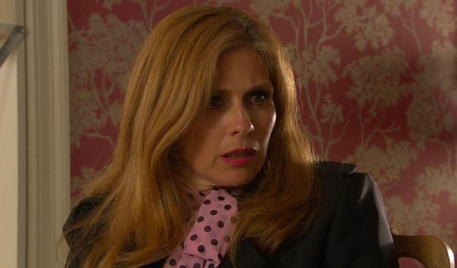 Samantha Giles as Bernice in Emmerdale
