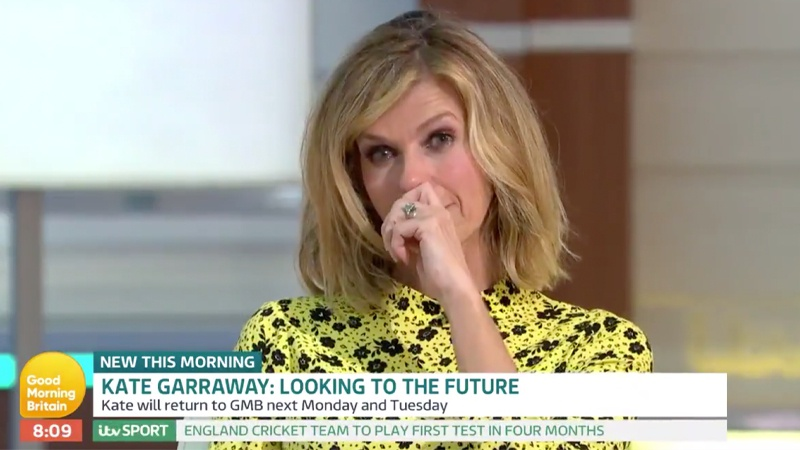 Kate Garraway clarifies husband's condition and says it's still a